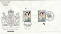2002-04-25 Queen Mother Doubled Date FDC (56769)