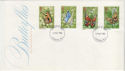 1981-05-13 Butterflies Stamps London FDC (56907)