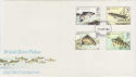 1983-01-26 River Fish Stamps London FDC (56909)