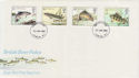 1983-01-26 River Fish Stamps London FDC (56910)