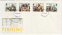 1981-09-23 Fishing Stamps London FDC (56974)