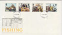 1981-09-23 Fishing Stamps London FDC (56975)