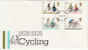 1978-08-02 Cycling Stamps London FDC (56978)
