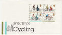 1978-08-02 Cycling Stamps London FDC (56979)