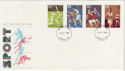 1980-10-10 Sport Stamps London FDC (56989)