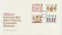 1981-02-06 Folklore Stamps London FDC (56990)