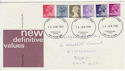 1981-01-14 Definitive Stamps Carmarthen FDI (57044)