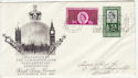 1961-09-25 Parliamentary Conf London SW1 Slogan FDC (57092)