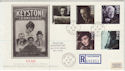 1985-10-08 British Films Stamps Shepperton cds FDC (57118)