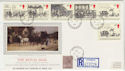 1984-07-31 Mail Coach Stamps Moffat cds FDC (57123)