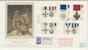 1990-09-11 Gallantry Walton on Thames cds FDC (57129)