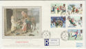 1990-11-13 Christmas Stamps Hollybush cds FDC (57131)