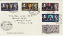 1964-04-23 Shakespeare Stamps Fishguard cds FDC (57152)