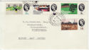 1964-07-01 Geographical Congress Stamps Fishguard cds FDC (57154