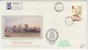1990-07-10 Thomas Hardy Stamp Amesbury cds FDC (57186)
