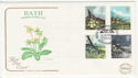 1979-03-21 Flowers Stamps Rural Blisworth FDC (57193)
