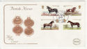 1978-07-05 Horses Stamps Epsom Surrey FDC (57199)