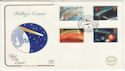 1986-02-18 Halleys Comet Stamps Star Winscombe FDC (57206)