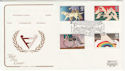 1981-03-25 Disabled Year Stamps Cambridge FDC (57221)