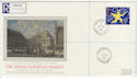 1992-10-13 European Market Stamp Parliament St cds FDC (57224)