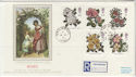 1991-07-16 Roses Stamps Kew Gardens cds FDC (57232)