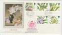 1993-03-16 Orchid Stamps Commons SW1 cds FDC (57273)