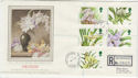 1993-03-16 Orchid Stamps Glasshouses cds FDC (57274)