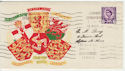 1958-08-18 Wales Definitive Conway FDC (57282)