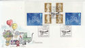 2003-03-04 Hello S/A Booklet Stamps Hounslow FDC (57288)