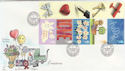 2002-04-23 Occasions LS7 Greetwell Gainsborough FDC (57304)