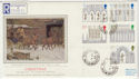 1989-11-14 Christmas Ely Cathedral Stoke Charity cds FDC (57322)