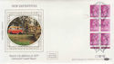 1985-09-17 31p Definitive ACP 2 dot Cyl London EC1 FDC (57367)