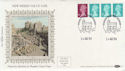 1984-08-14 Definitive Coil Stamps Windsor FDC (57373)