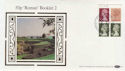 1986-10-20 50p Booklet Cyl Margin St Albans FDC (57385)