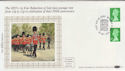 1985-10-29 12p + 12p Star Underprint Windsor FDC (57394)