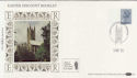 1985-03-05 Definitive 17p D Underprint Canterbury FDC (57402)
