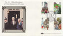 1985-07-30 Royal Mail 350th No. 10 London SW1 FDC (57441)