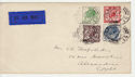 1929-05-10 KGV Postal Union Congress Stamps cds FDC (57466)