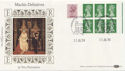 1984-07-10 Definitive 2p Perf Change Windsor FDC (57488)