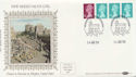 1984-08-14 Definitive Coil Stamps Windsor FDC (57500)