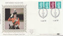 1984-08-14 Definitive Coil Stamps London WC2 FDC (57502)