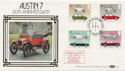 1982-10-13 Austin 7 60th Car Stamps FDC (57623)