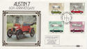 1982-10-13 Austin 7 60th Car Stamps FDC (57624)