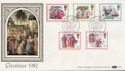 1982-11-17 Christmas Stamps Bethlehem FDC (57626)