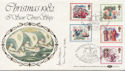 1982-11-17 Christmas Stamps Hythe Signed FDC (57629)