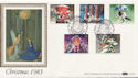 1983-11-16 Christmas Stamps Peacehaven FDC (57656)
