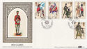 1983-07-06 The Irish Guards BF 1900 PS FDC (57675)
