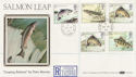 1983-01-26 River Fish Salmon Leap cds FDC (57679)