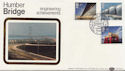 1983-05-25 Engineering Stamps Humber Bridge Hull FDC (57686)