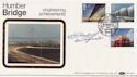 1983-05-25 Engineering Stamps Humber Bridge Signed FDC (57688)